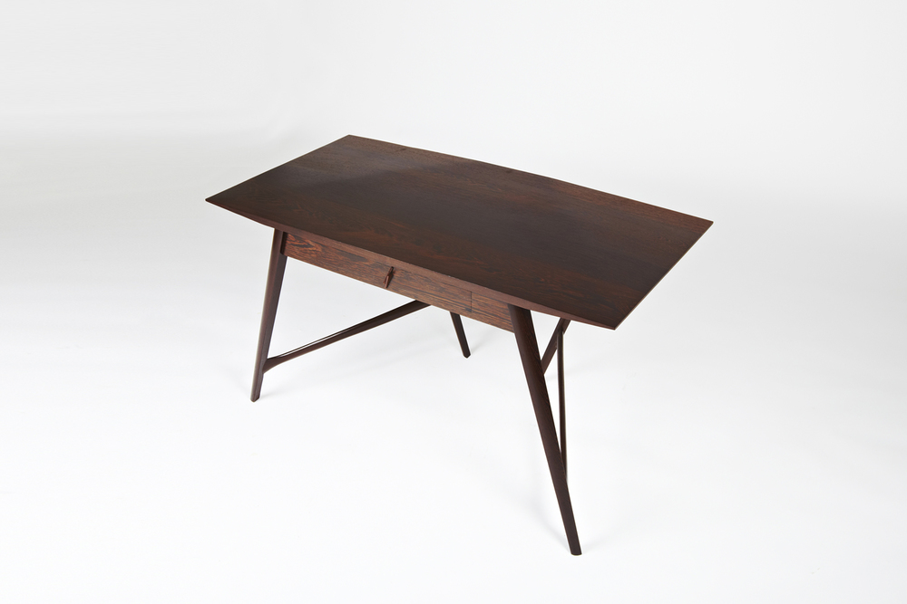 Stealthier Desk in Solid Wenge