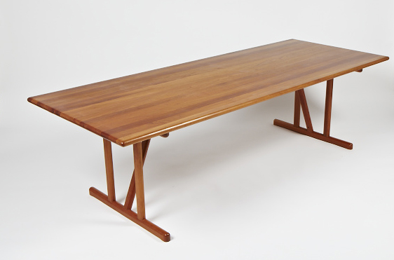 N Gehl 1970s Dining Table • made 1970-1979 •