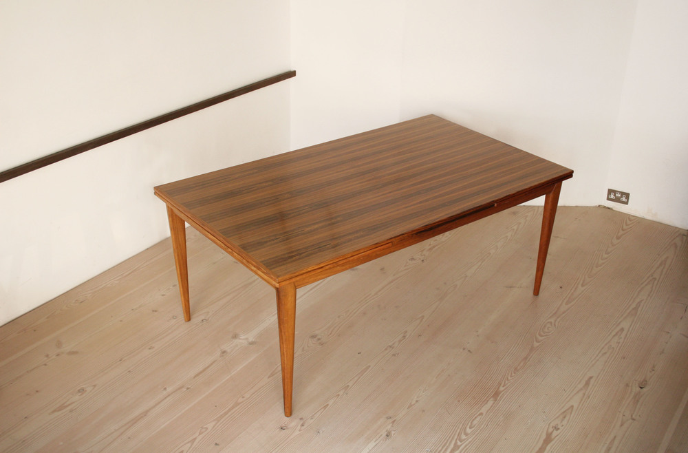 N O Moller 1955 Large Dining Table • made 1955-69 •