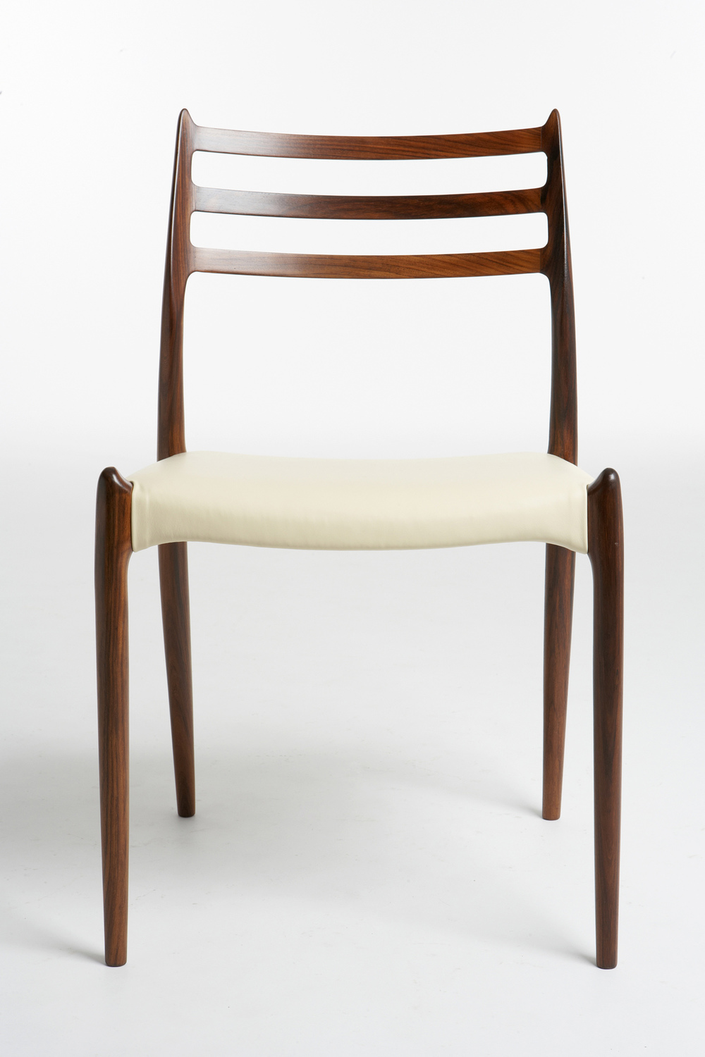 N O Moller 1962 Dining Chair • made 1970-79 •