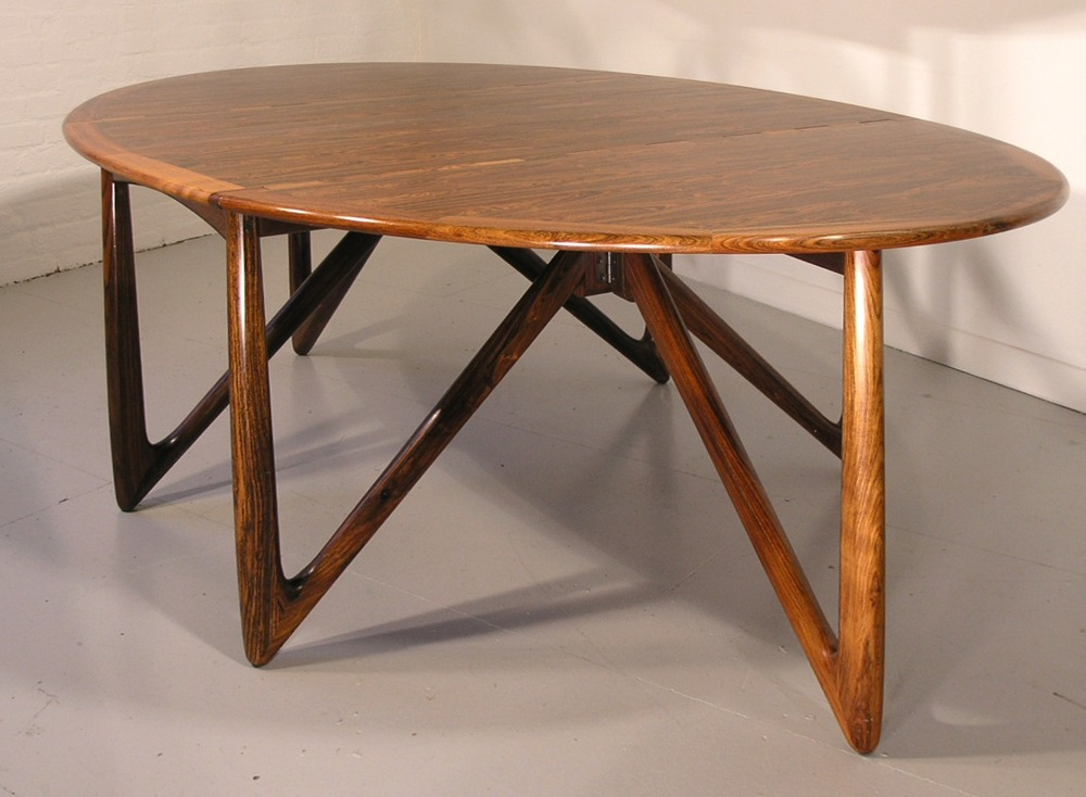 N Kofoed 1964 Dining Table • made 1964-1969 •