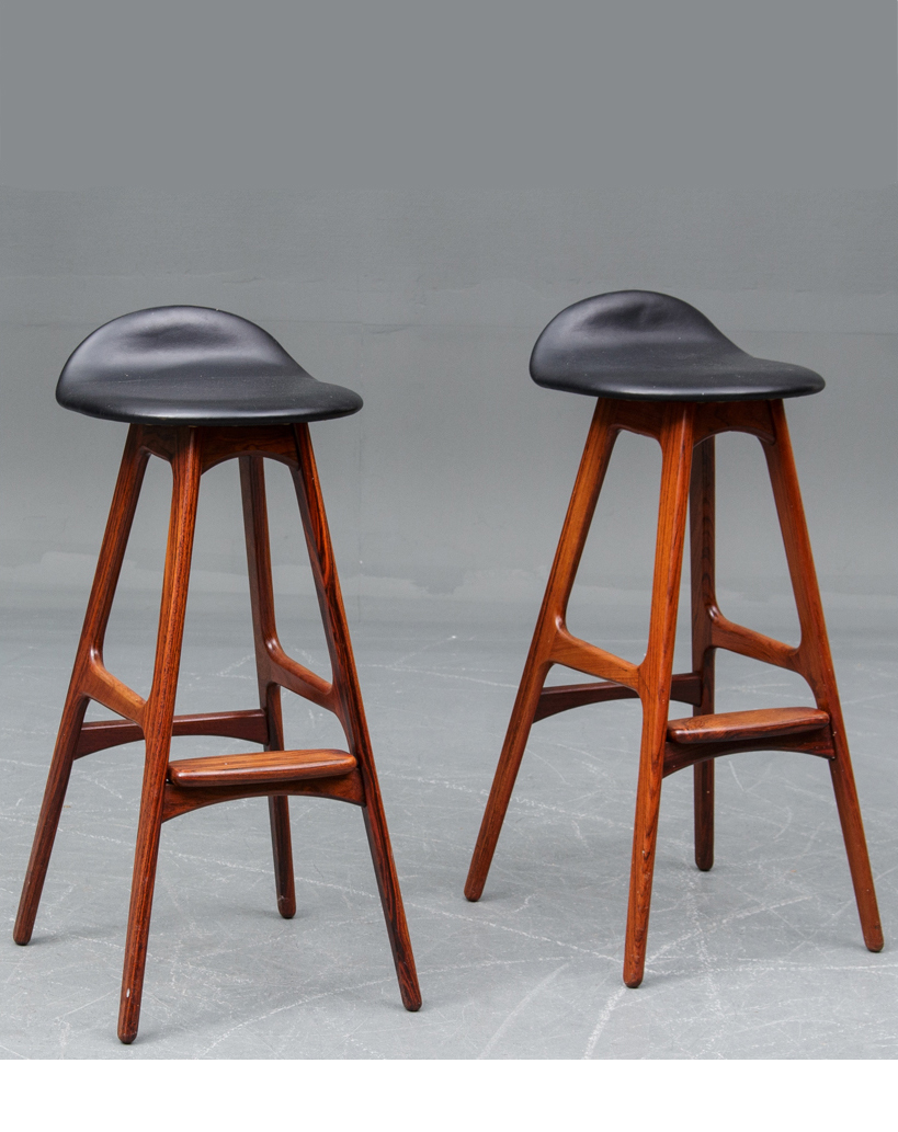 E Buch Bar Stools • made 1960-70 •