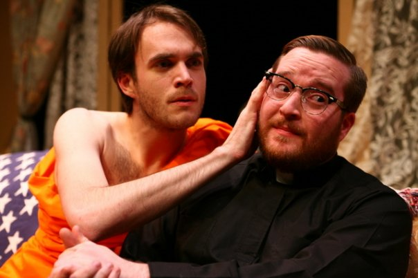 The Vietnamization of New Jersey by Christopher Durang  (2007)  pictured with Corey Sullivan Photo by Trevor Oswald