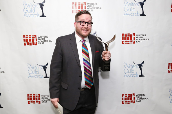 "Writers Guild Awards, NYC.   Winner for ""Jack in a Box.""   February 17, 2013"
