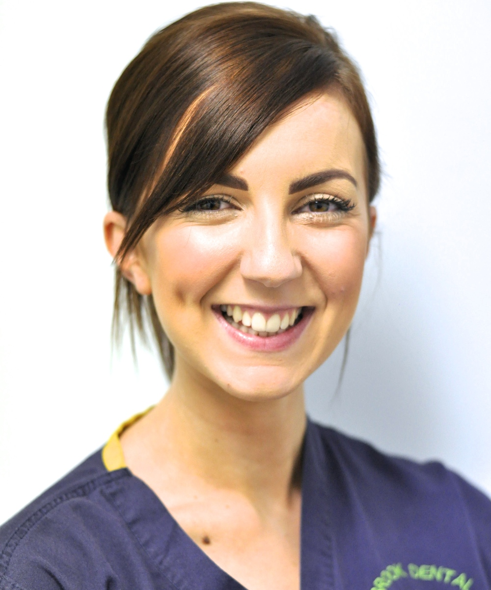 Dr. Naomi Harrison (B.D.S.)   Dr. Harrison  qualified from the University of Sheffield in 2012 and spent time working as a Dental House Officer at the Charles Clifford Dental Hospital in Sheffield before moving to Birmingham to work full time as a Foundation Dentist here at Hillbrook Dental Health Centre.    She is interested in all aspects of dentistry in particular paediatric dentistry.  Dr. Harrison's  personal interests include travelling, films, reading and spending time with friends and family.