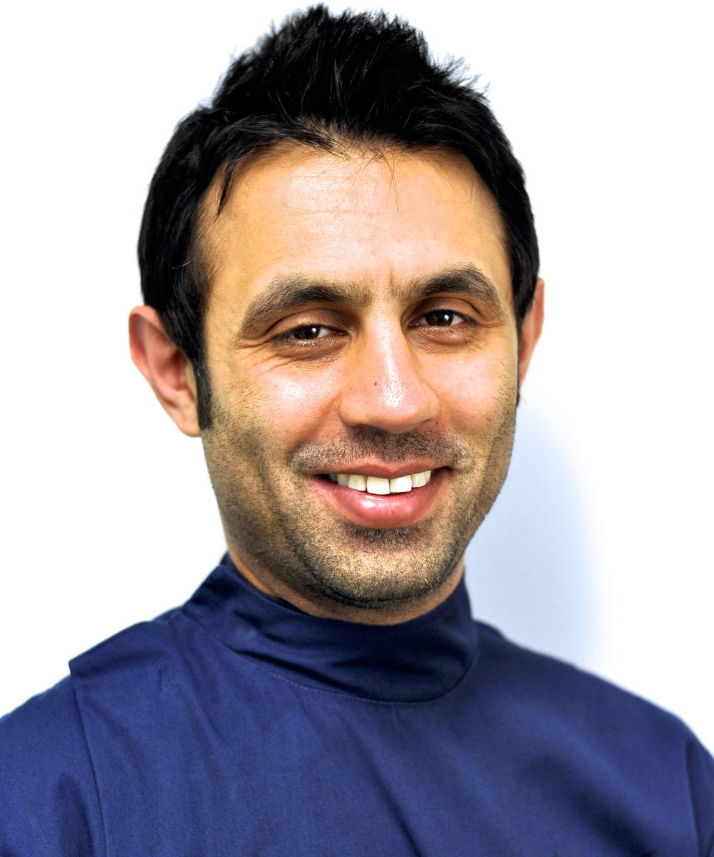 Dr. Mohammed Majid  GDC: 80190 since 2001 -B.D.S. (Liverpool, UK)  Dr Majid qualified at the Royal Liverpool Dental Hospital in 2001 and has his MFDS Cerificate in General Dental Practice from the Univeristy of Birmingham.  He is currently studying for a diploma at the University of Bristol.  Dr Majid has a special interest in periodontal treatment, orthodontics and particularly keen on treating elderly patients.  In his spare time Dr Majid enjoys reading, spending time with his family and kickboxing.
