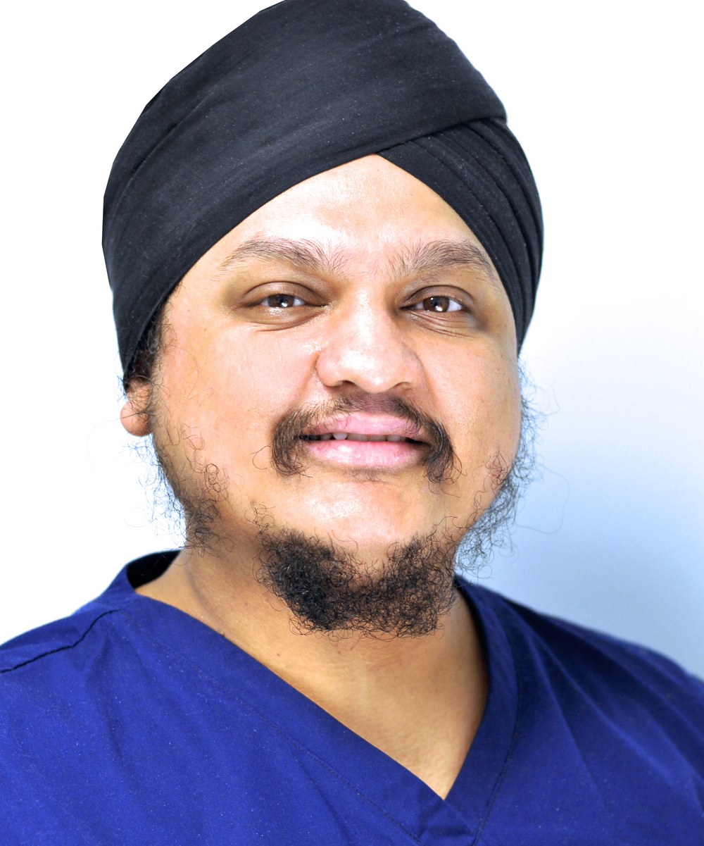 Principle Dentist: Dr. Sukhvinder Singh Atthi - B.D.S., -MFDS RCS, - DipConSed, - Cert in Dental Appraisal FGDP (UK), - PGCERT - Foundation in Learning and Teaching Higher Education, - Cert MOS Oral Surg FGDP (UK))  Qualified from University of Birmingham in 1998 & has developed the practice to provide braces (Orthodontics), all types of difficult extractions, minor oral surgery and Sedation to accommodate nervous patients.  Dr. Atthi also has been a dental foundation trainer since 2005 and teaches at Birmingham Dental Hospital. Along with his mentoring & coaching skills, he is also a member of the FGDP West Midlands and provides numerous courses for the dental team.  In his spare time he enjoys listening to music and has a keen interest in movies