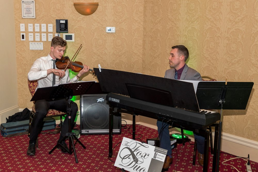 Fox Duo Violin Piano Corporate Music Niagara Events