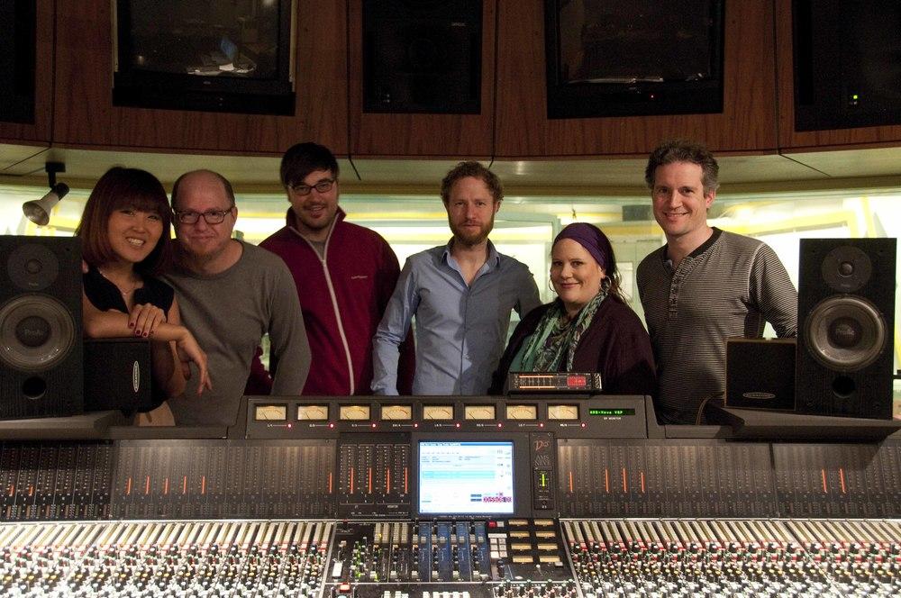 """Aufnahmen """"Look For The Silver Lining"""" mit Philipp Heck, Bauer Studios Ludwigsburg, März 2013"""