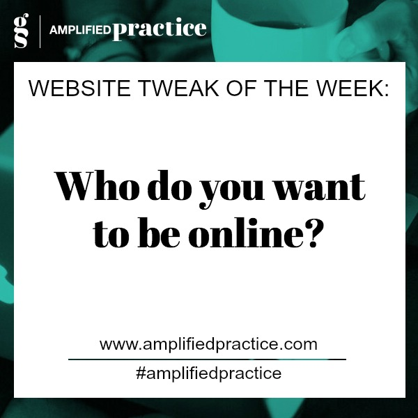 Therapist Website Tip:| Amplified Practice Authentic Marketing & Business Coaching for Therapists