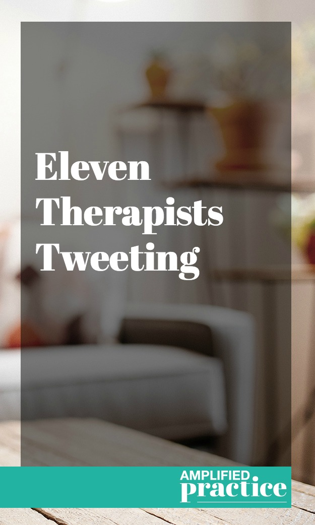 Therapists on Twitter | Amplified Practice Authentic Marketing & Business Coaching for Therapists