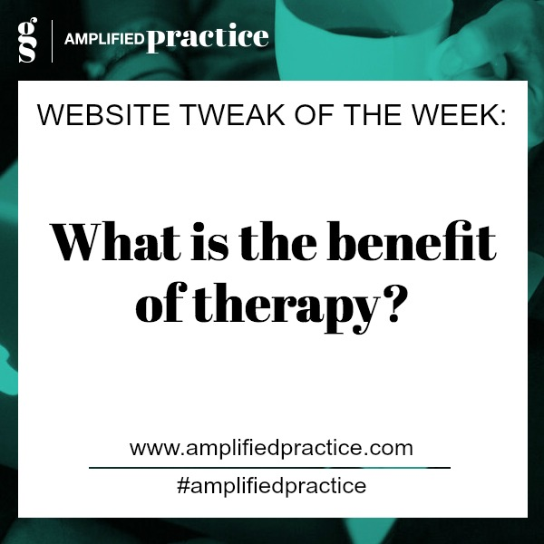 Therapist Website | Amplified Practice Authentic Marketing & Business Coaching for Therapists