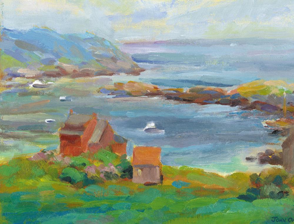 Sunny Morning Harbor