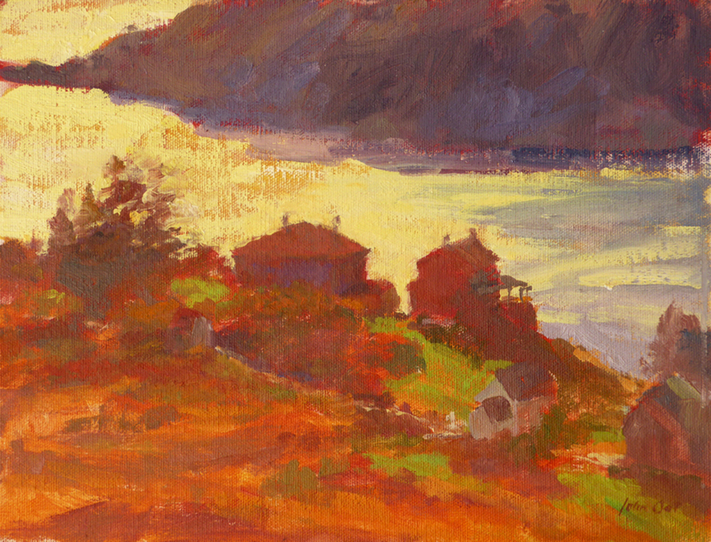 Early Fall Light, Monhegan