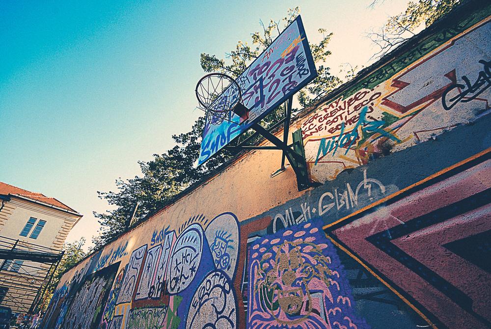 Graffiti art photgraphy Ljubljana