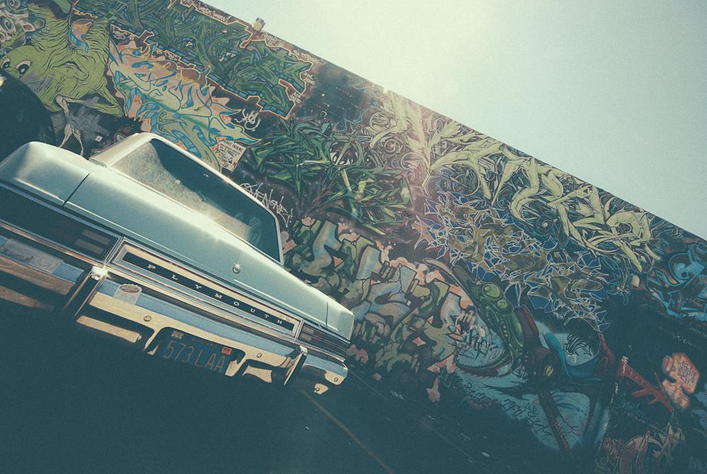 Graffiti art photgraphy San Francisco USA