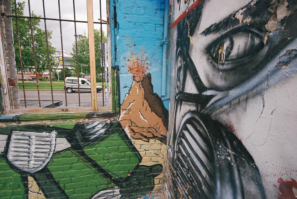 Graffiti art photgraphy Berlin Germany