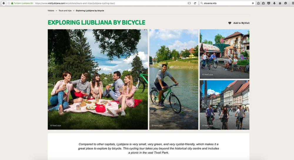 Destination photography Visit Ljubljana