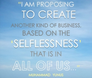 Inspiring Quote from Muhammad Yunus