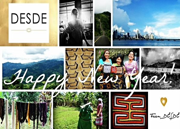Happy New Year! With Love, Team DESDE  Scenes from 2014 in Panama.