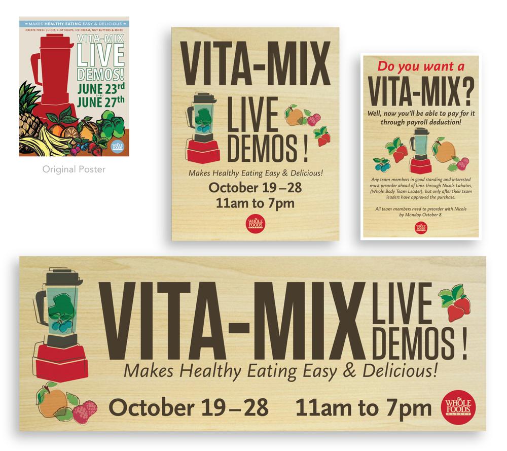 Vitamix quarterly events