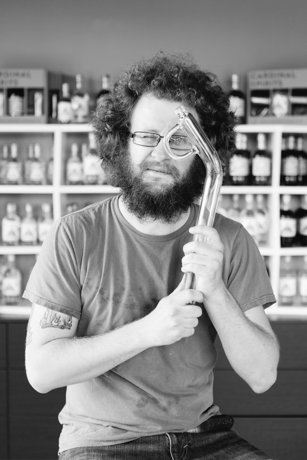 Justin Hughey, Head Distiller