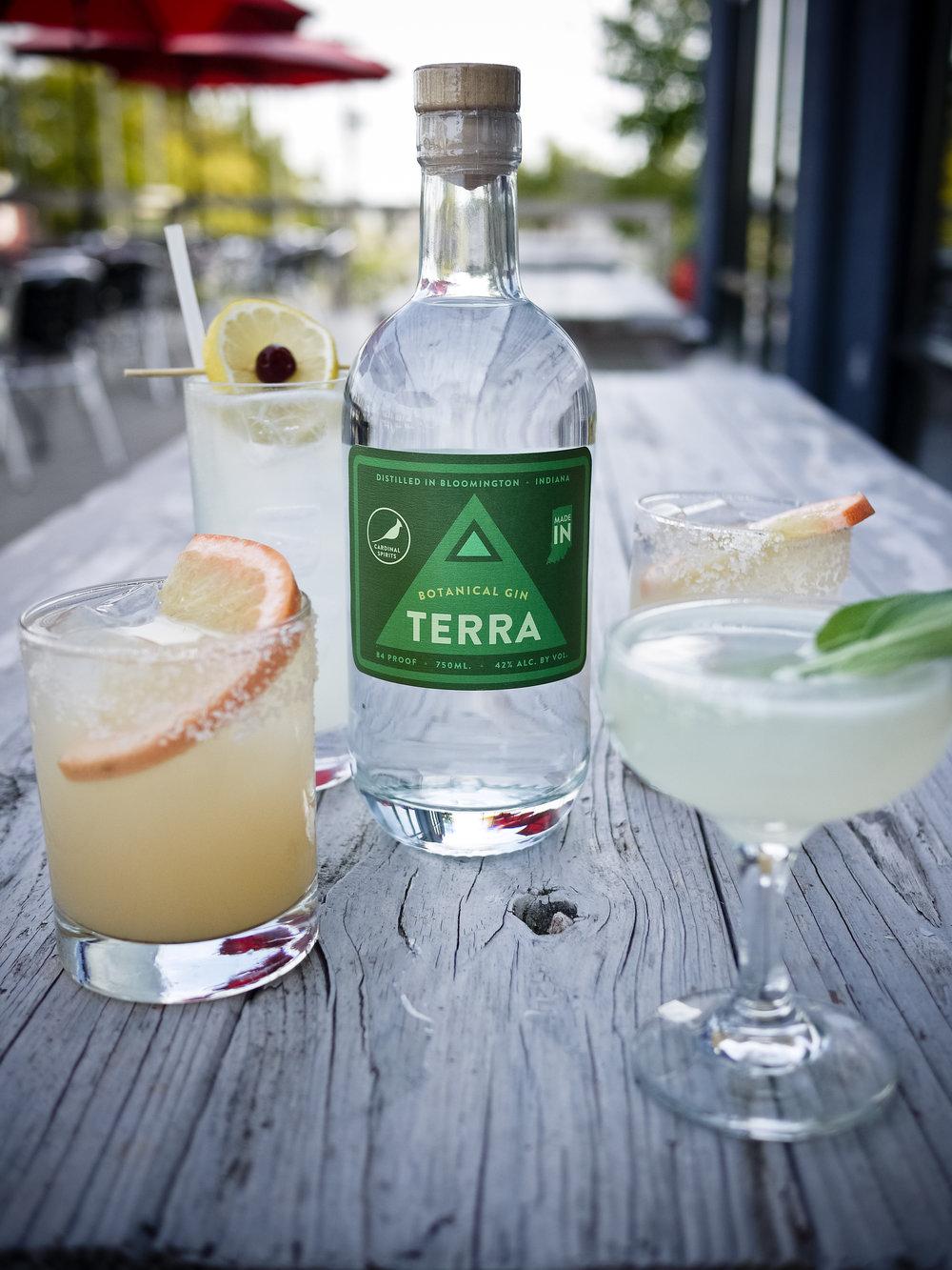 Terra w/Cardinal Spirits cocktails