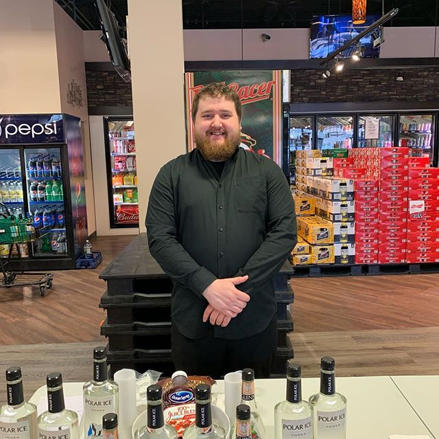 Hey gang! It's sippy Saturday once more! Today we're using @polaricevodka to mix up some cocktails until 6pm! Swing by and have a sip! Cheers! 🍸