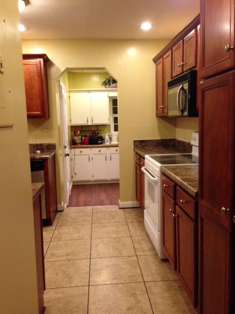 kitchen, from hallway