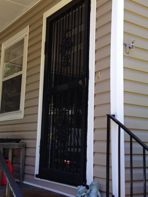 our front door before