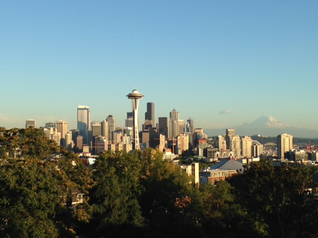Beautiful skyline from Kerry Park