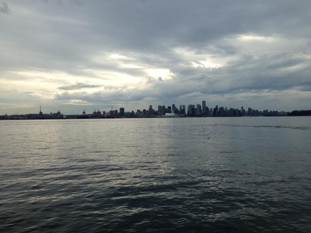 Beautiful Vancouver skyline