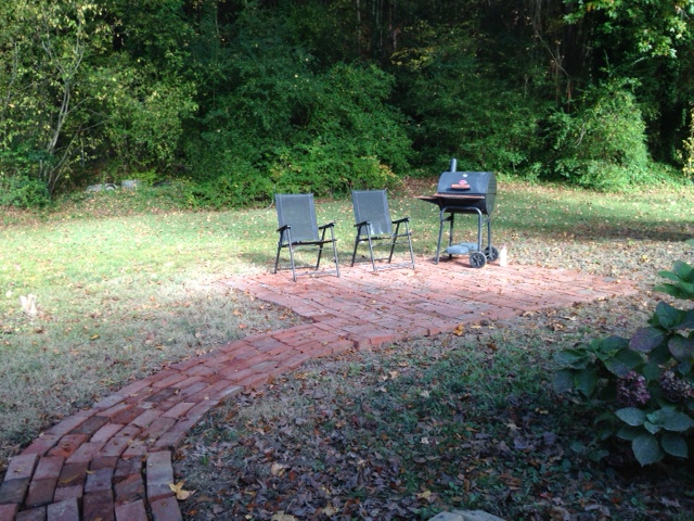All that's left is some awesome patio furniture and a fire pit!