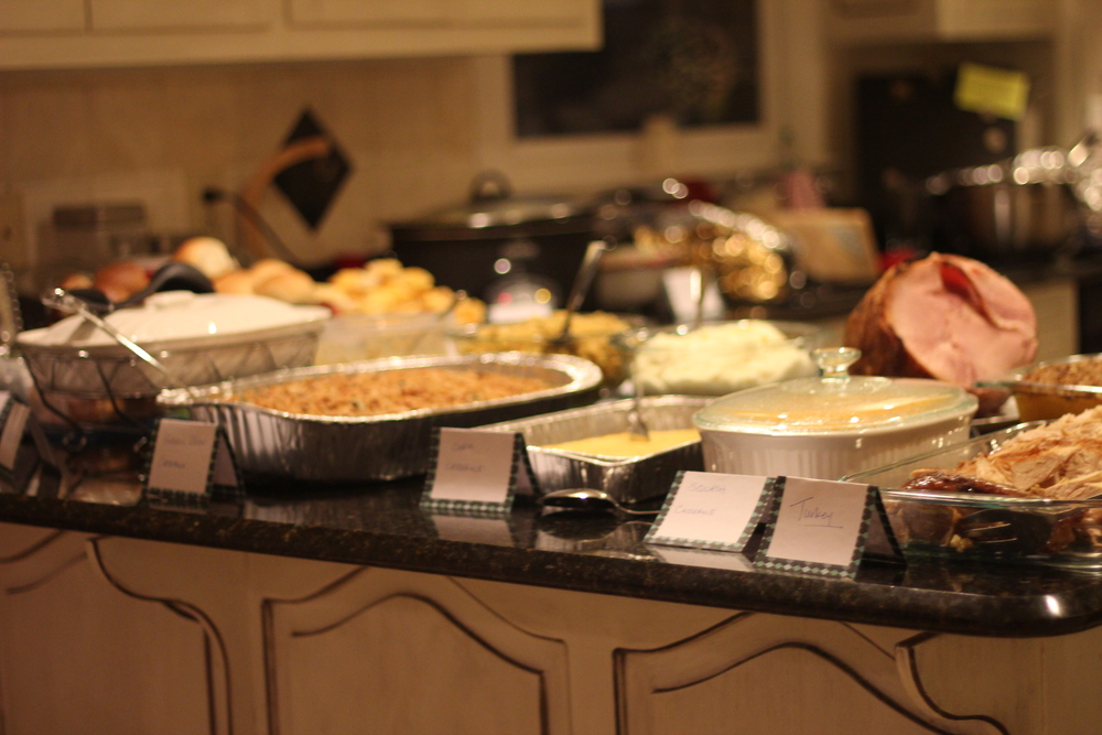 We had all of the traditional Thanksgiving Feast Favorites!