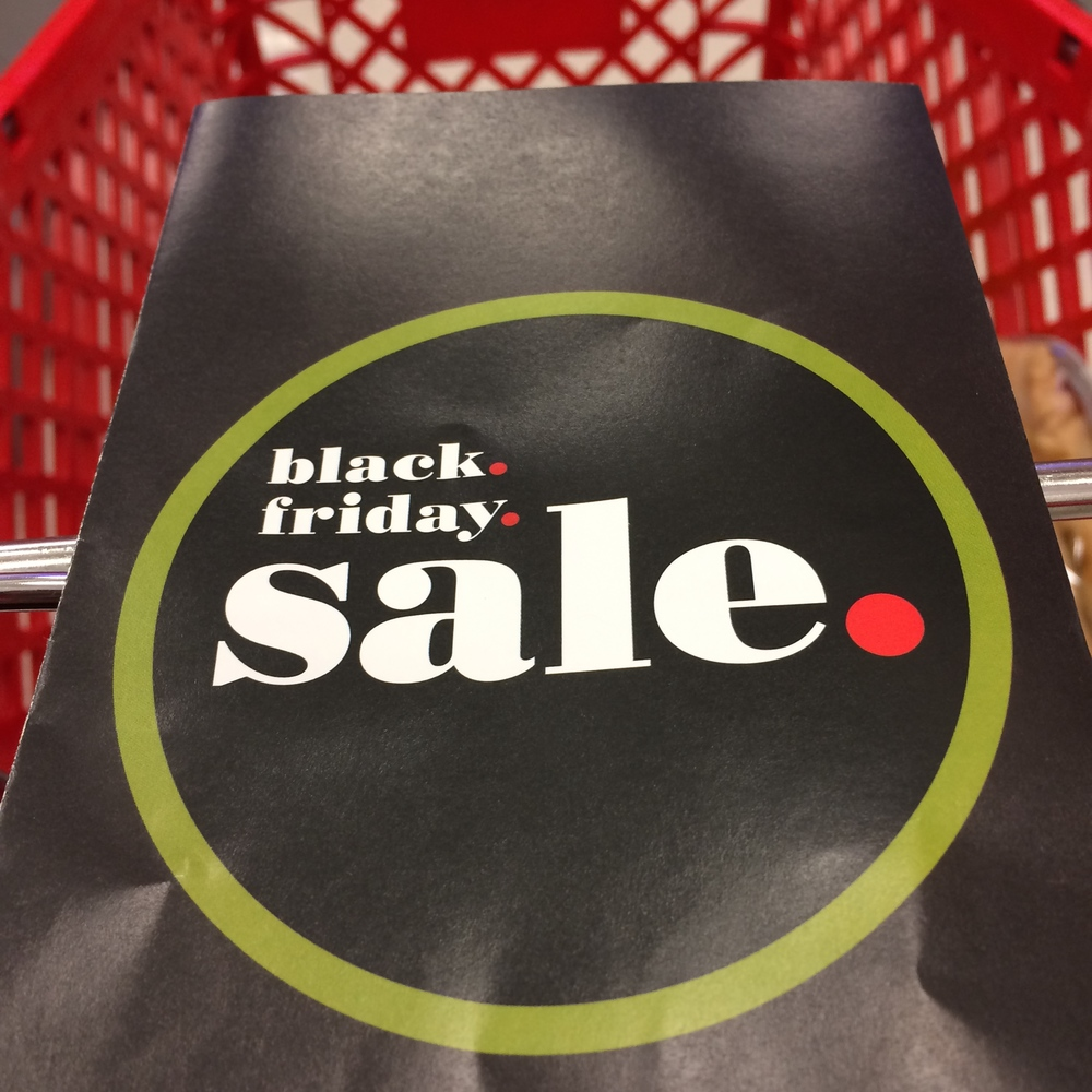 And a little early Black Friday shopping at Target.