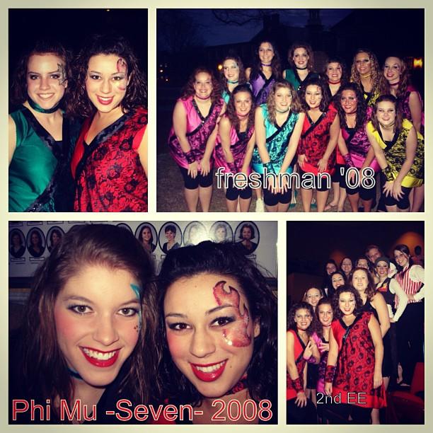Phi Mu Step Sing 2008 - my freshman year. We placed!