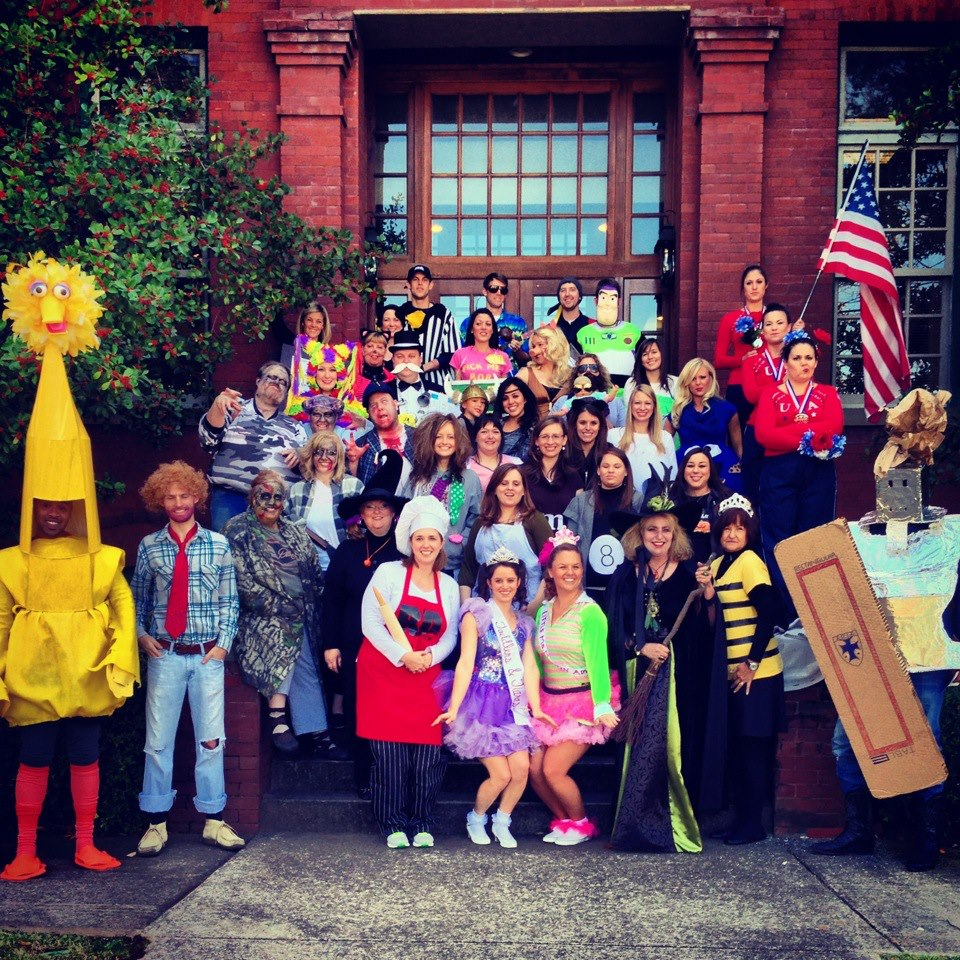 We do Halloween pretty big at Martin - Halloween 2012