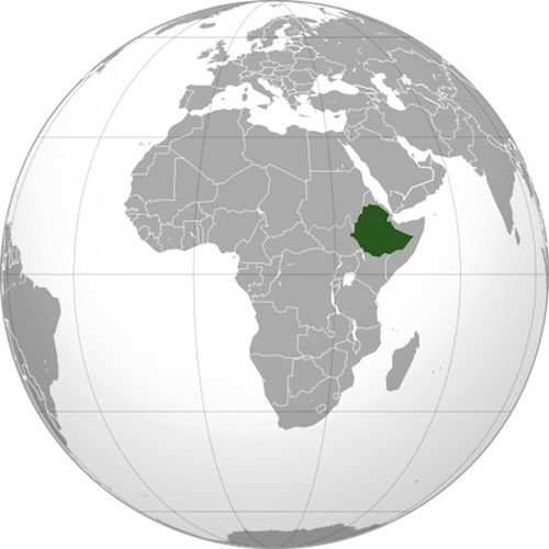 Here's Ethiopia on a map :) I didn't know exactly where it was before we started the adoption process.