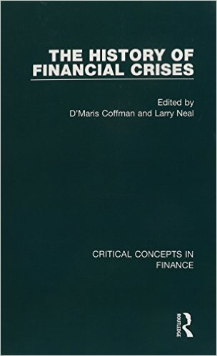 The History of Financial Crises, 4 volumes