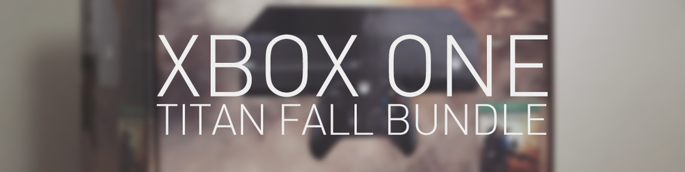 XBOX ONE (TITAN FALL BUNDLE) - UNBOXING