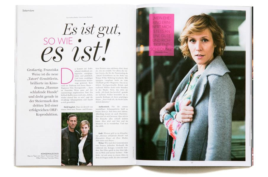 Franziska Weisz - look!