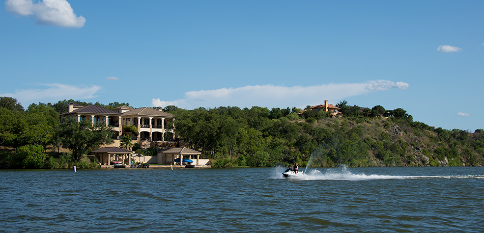 Homes on Lake LBJ
