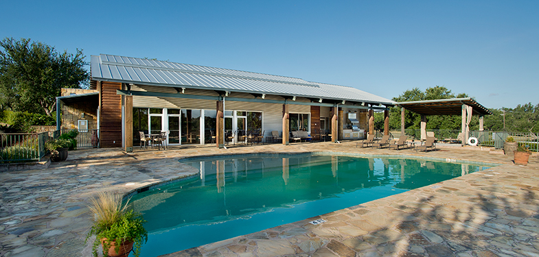 Club House & Pool Amenities at Trails of Horseshoe Bay