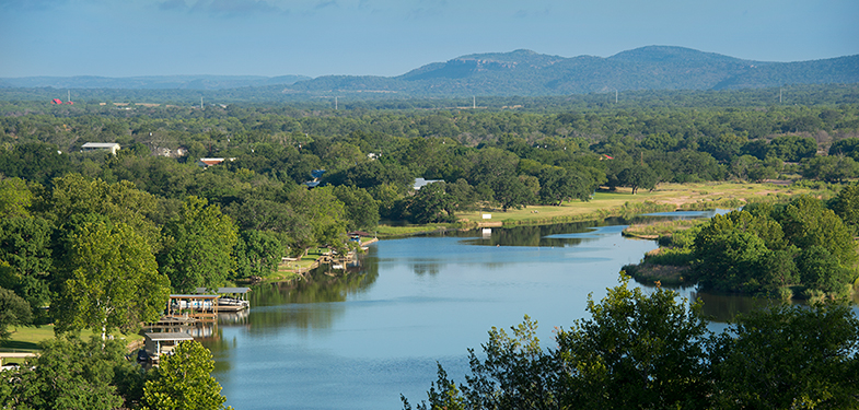 Lake LBJ and Texas Hill Country Views at the Trails of Horseshoe Bay