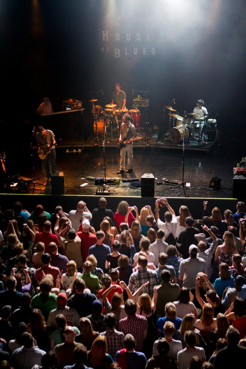 Guster-house of Blues crowd.jpg