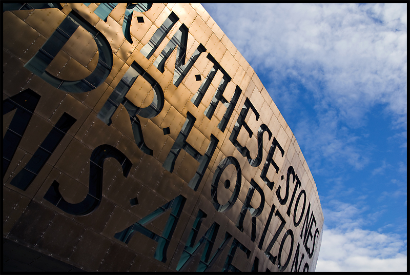 Mellenium Centre, Cardiff