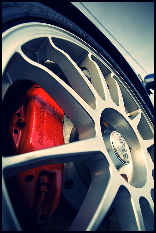 Wheels and brakes from my old Seat Ibiza Cupra