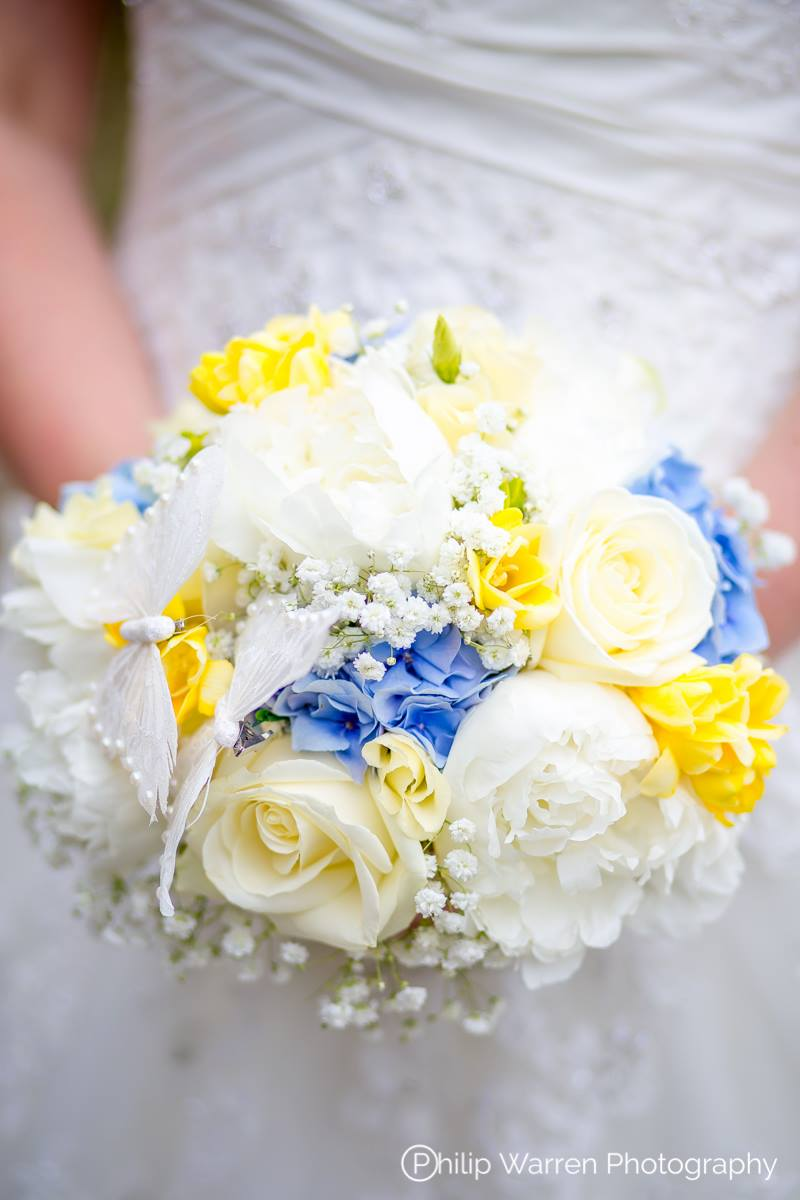 Brides Bouquet of Flowers