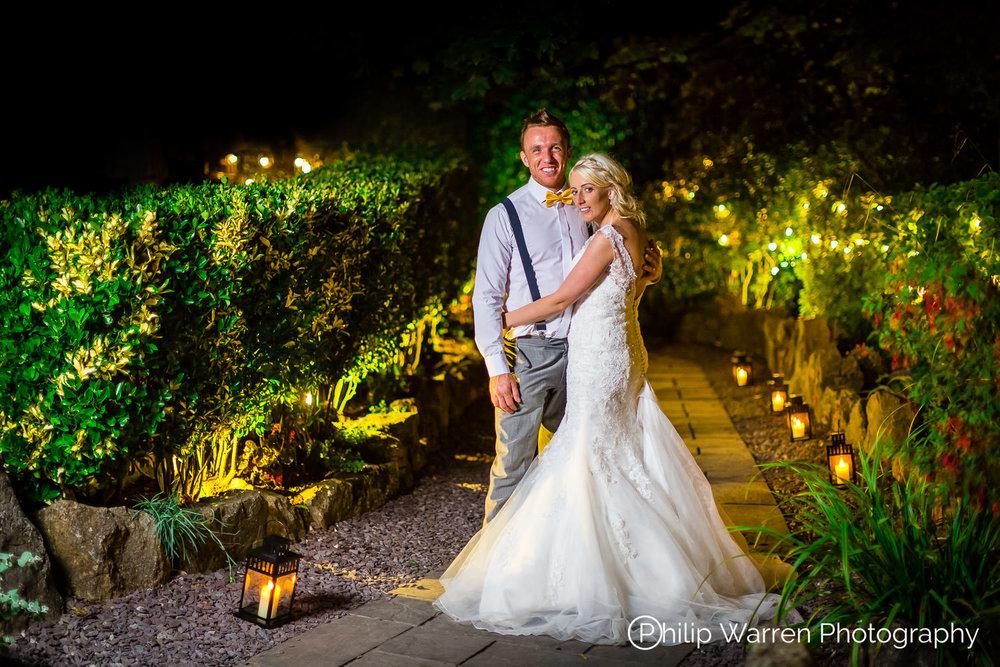Night Wedding Photos Oxwich Bay