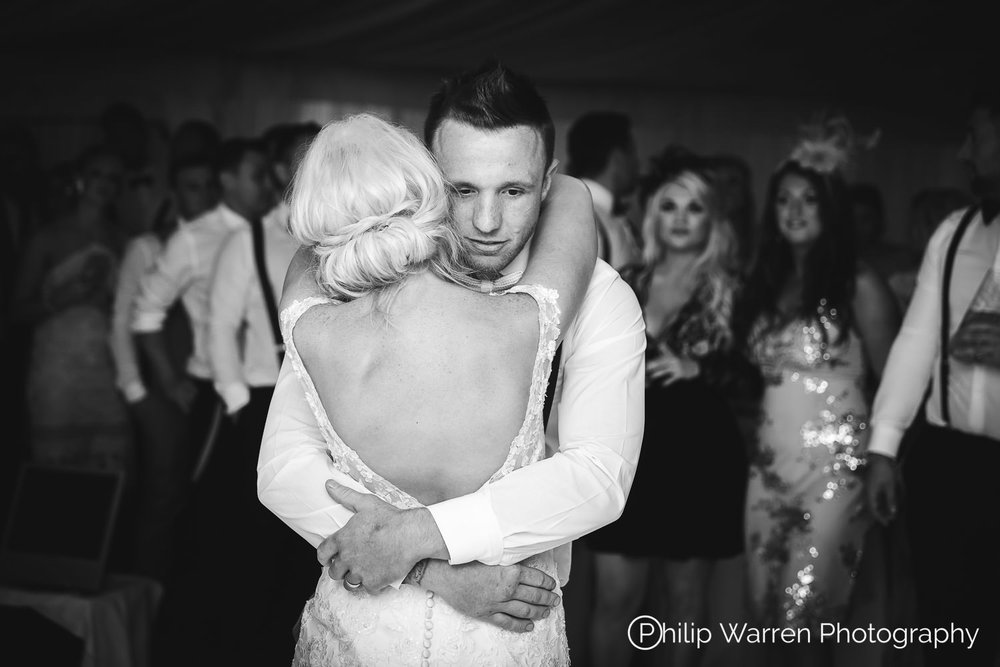 First Dance at Oxwich Bay Wedding